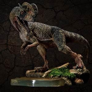 2017 new Jurassic World Dinosaur model Dilophosaurus ...  Dilophosaurus