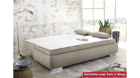 boxspring dauerschläfer boxspring schlafsofa sofa dauerschl 228 fer in grau