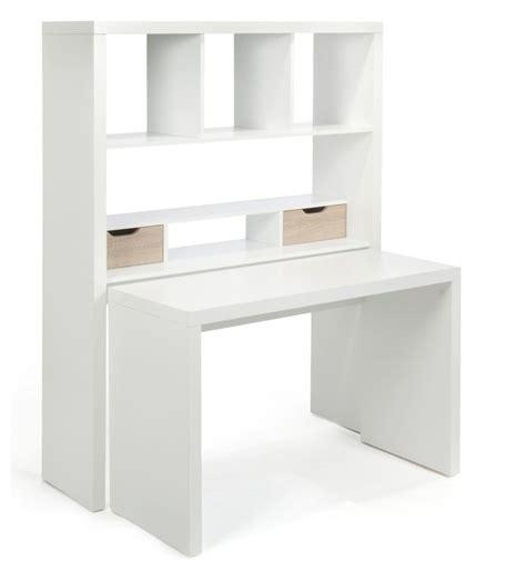 bureau secr aire meuble twisty bureau modulable avec étagères et tiroirs