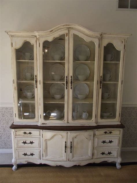 french provincial china cabinet reserved sale pending vintage french provincial china