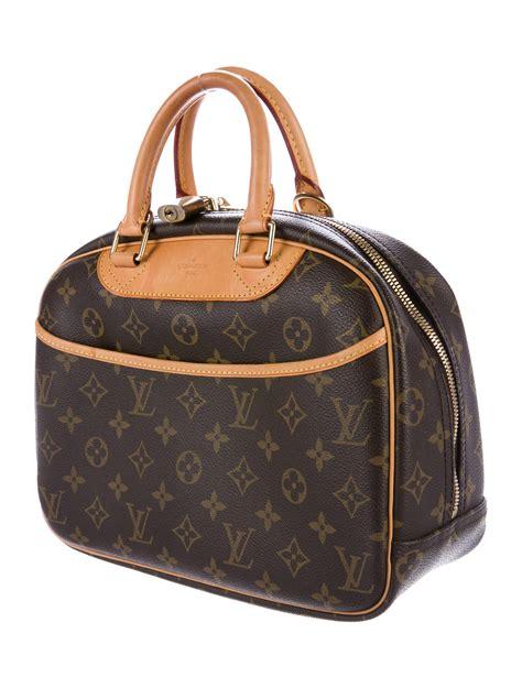 louis vuitton monogram trouville bag handbags