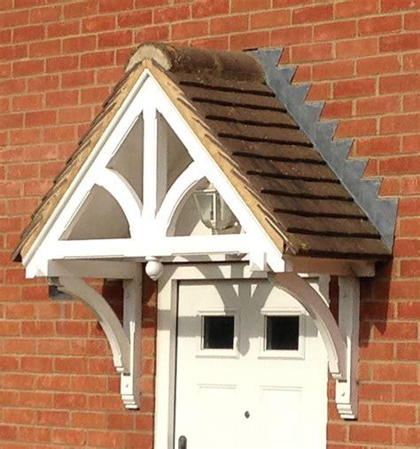 Wooden Front Door Canopy Porch Ebay