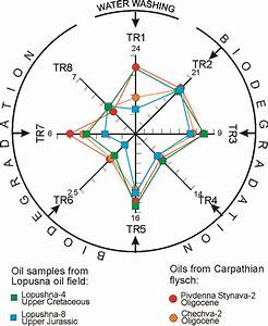 Star Diagram Of C7 Oil Transformation Ratios  Scheme Of Star Diagram