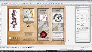 design professional brochures using gimp inkscape and With scribus brochure templates