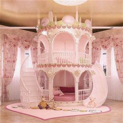 acheter chambre princesse fille enfants de diapositives lit belle unique rose chateau lit