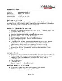 Restaurant Manager Responsibilities For Resume by Best Photos Of Restaurant Manager Description Templates Restaurant General Manager