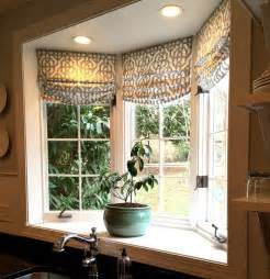 custom shades in lacefield imperial bisque fabric by the yard via cottage and vine