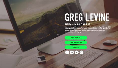 Resume Creating Websites by Now S The Time To Create Your Personal Website For 2018