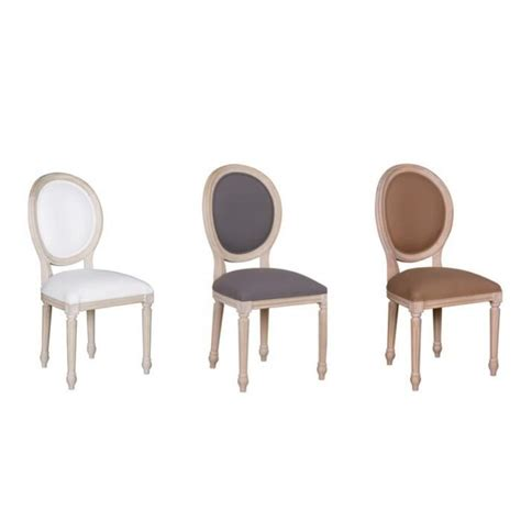 chaise en bois blanc pas cher chaise tessy bois de manguier effet c 233 rus 233 et tissu blanc achat vente chaise salle a