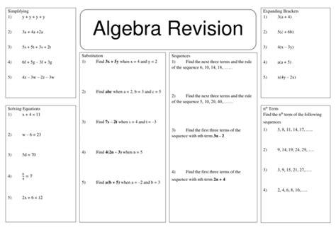 maths worksheets algebra ks3 homeshealth info