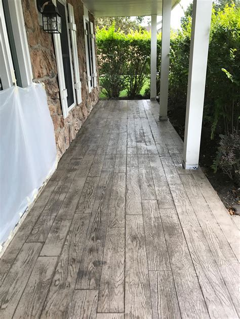 residential stamped concrete patios walks steps photo