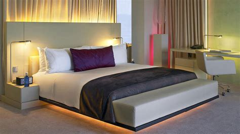 W Hotel Bed by W Hotel Barcelona By Ricardo Bofill