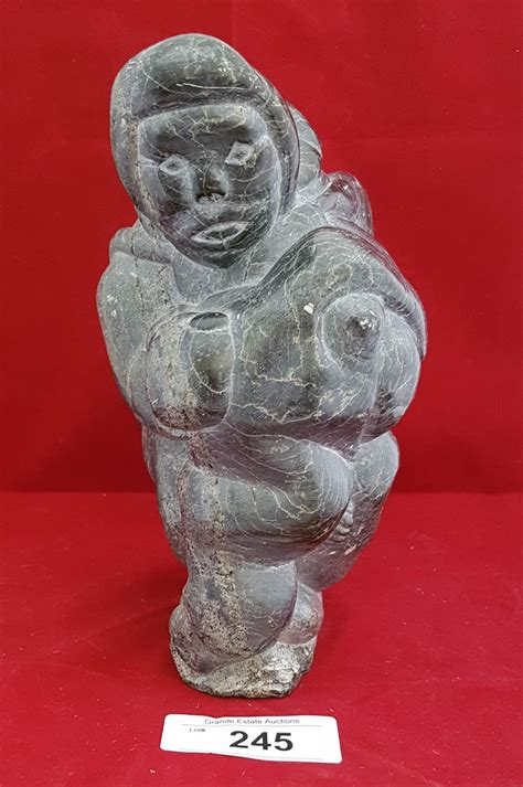Eskimo Soapstone Carvings by Eskimo Soapstone Carving