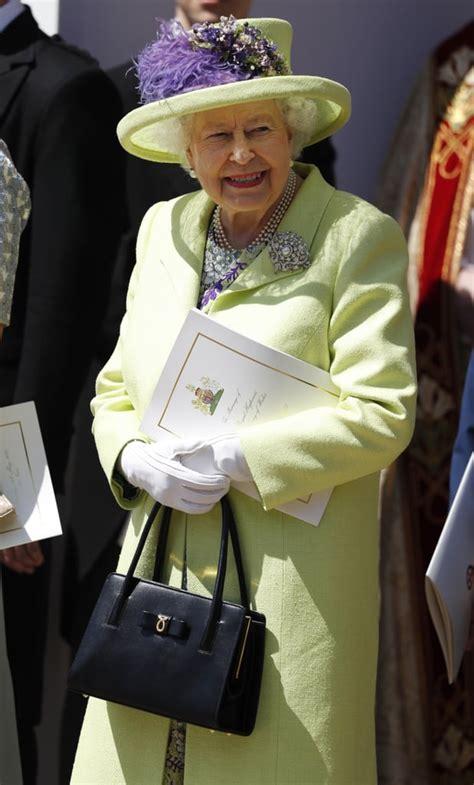 queen elizabeth dress   royal wedding  popsugar