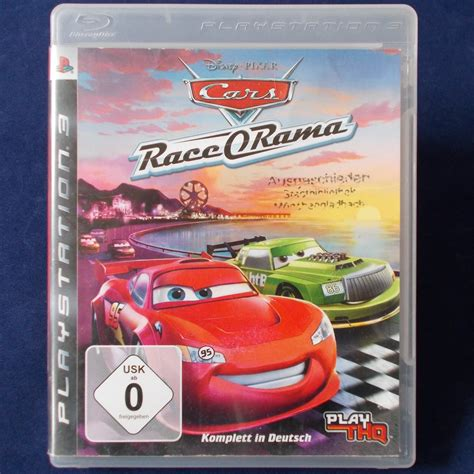 Ps3 Playstation Cars Race O Rama Dt Version