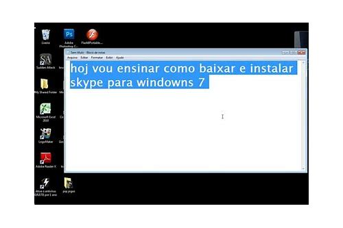 baixar skype uk para windows 7