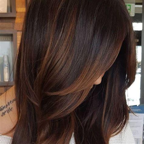braune haare mit highlights 20 wundersch 246 ne dunkle braune haare mit highlights ideen