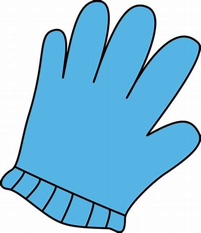 Clip Gloves Glove Clipart Winter Cliparts Medical