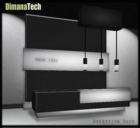 life marketplace modern reception desk