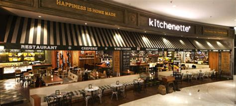 outdoor terrace kitchenette senayan city picture