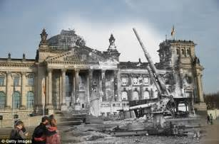 Berlin, then and now: Fascinating images compare German