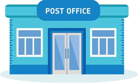 Post Office Clipart Royalty Free Post Office Clip Vector Images
