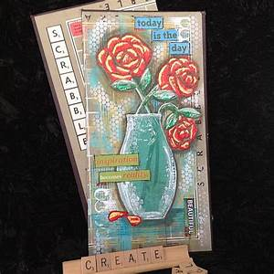 Recycled Materials Mixed Media Art - Project by DecoArt