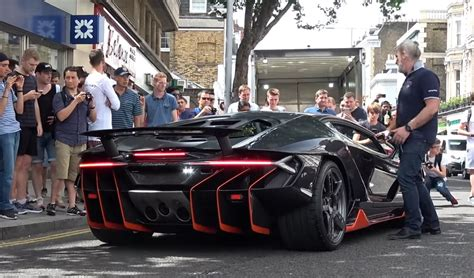 Lamborghini Centenario Arrives and Revs in London, Causes ...
