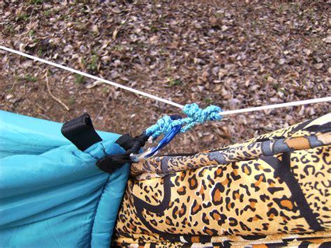 Diy Hammock Underquilt Sleeping Bag by How To Make A Diy Cing Hammock Underquilt From A
