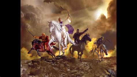 horsemen revelation four apocalypse seals seven creitz goodsalt steve daniel lamb apoc prophecy third imagery studio illustration crown opened heard