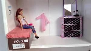 My Homemade Barbie Doll house - YouTube