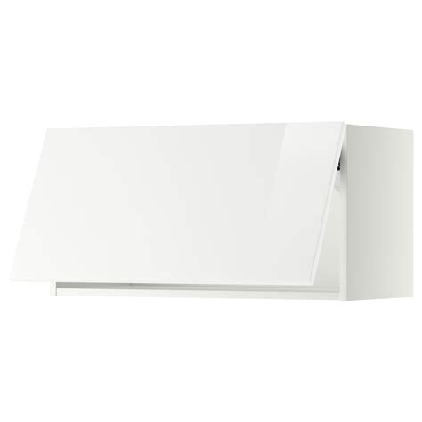ikea horizontal kitchen cabinets metod wall cabinet horizontal white ringhult white 80 x 40 4445