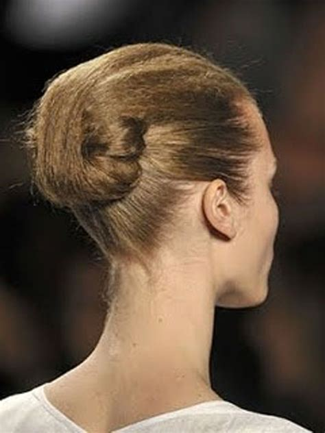 futuristic bun hairstyle babes  hairland