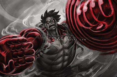Street Fighter V Include Gear 4th Luffy By Vinrylgrave On