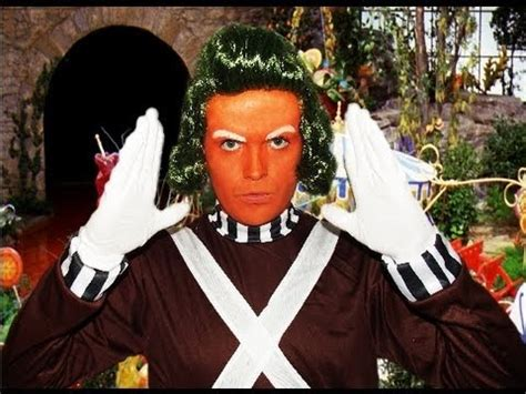 oompa loompa willy wonka makeup tutorial youtube