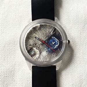 Moon Crater Watch, Watches, Mens Watch, Unique Watch, Moon ...