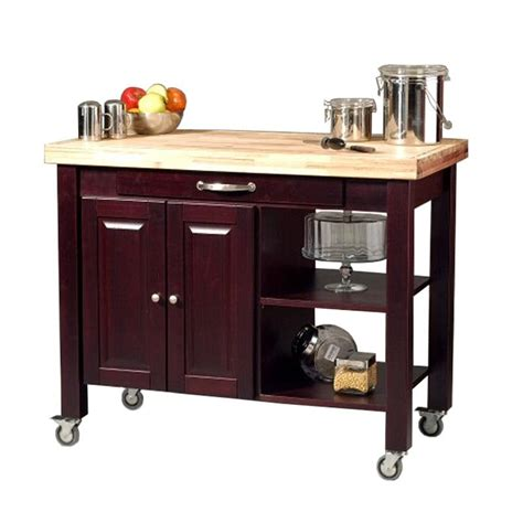 butcher block portable kitchen island floating in space kitchen carts portable islands 8001