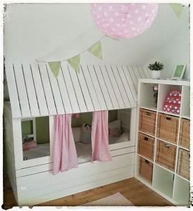 Ikea Kinderzimmer Ideen : diy ikea hausbau f r lotti bett pinterest selber ~ Michelbontemps.com Haus und Dekorationen
