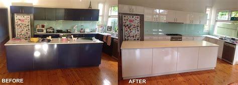 kitchen resurfacing   tired benchtops cabinets