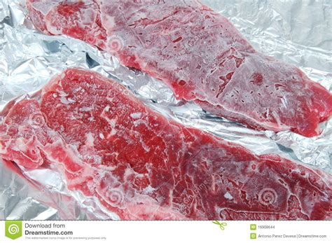 frozen meat stock images image