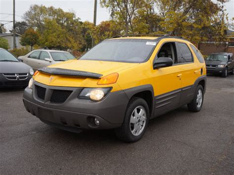 pontiac aztek yellow pontiac yellow michigan mitula cars
