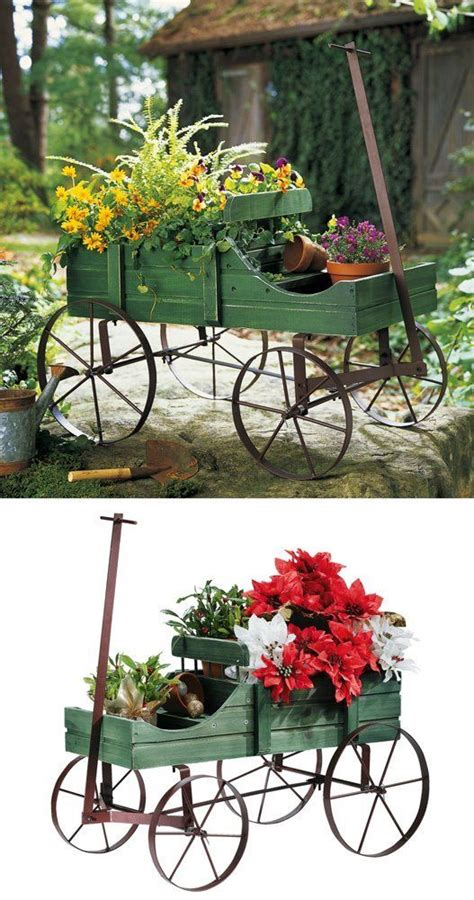 154 best images about wheelbarrows wagons in the garden