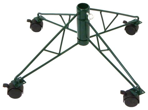 rolling tree stand for 8 9 5 artificial trees green
