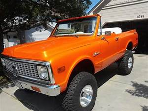 1971 Chevrolet 4x4 K5 Blazer