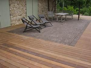 Support Terrasse Bois : terrasses sur support existant les sens du bois ~ Premium-room.com Idées de Décoration