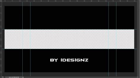 photoshop youtube banner vorlage  youtube