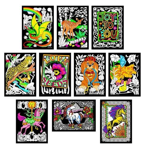 terrific  pack  fuzzy velvet   posters