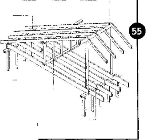 Pitched Roofs  House Construction  Woodworking Archive