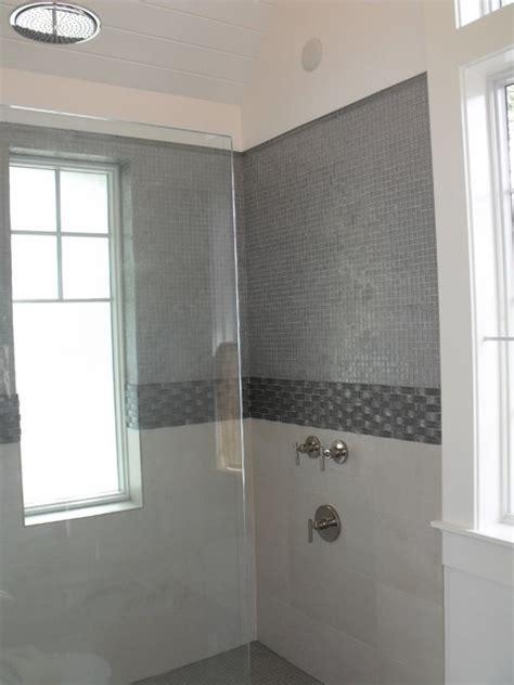 Grey Glass Bathroom   Modern   Bathroom   jacksonville