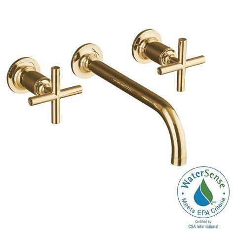 kohler purist wall mount 2 handle water saving bathroom
